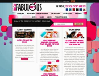 frugalfabulousfinds.com screenshot
