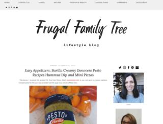 frugalfamilytree.com screenshot
