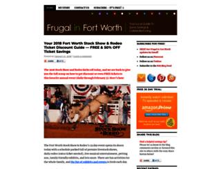frugalinfortworth.com screenshot
