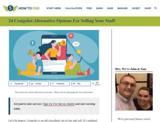 frugalparagon.com screenshot