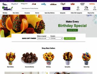 fruitbouquets.com screenshot