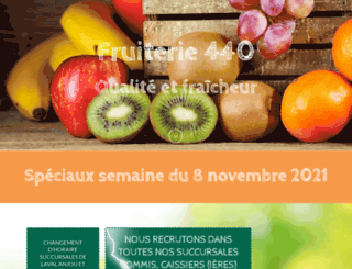fruiterie440.com screenshot