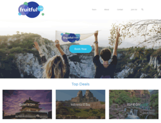 fruitfultravel.com screenshot