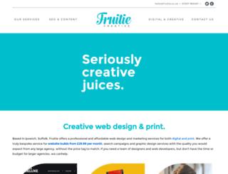 fruitie.co.uk screenshot