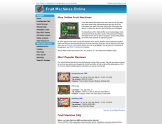 fruitmachinesonline.co.uk screenshot