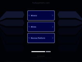 fruitygamers.com screenshot