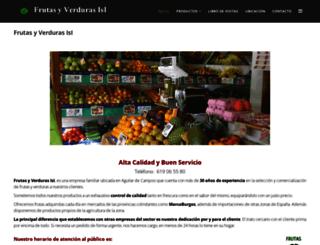 frutasyverdurasisi.es screenshot