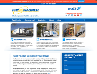 fry-wagner.com screenshot