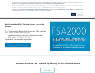 fsa.sasb.org screenshot
