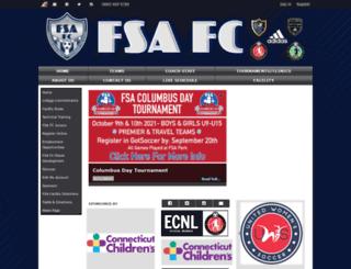 fsafcunited.com screenshot
