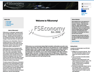 fseconomy.net screenshot