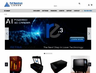 fslaser.com screenshot
