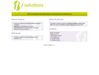 fsolutions.cz screenshot