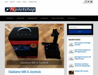 fspilotshop.com screenshot