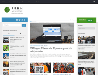 fsrn.org screenshot