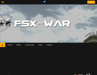 fsxwar.com screenshot