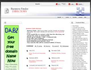 ftp.business-finder.info screenshot