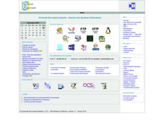 ftp.unice.fr screenshot