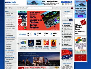 fuartakip.com screenshot