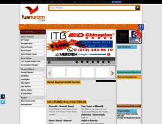 fuarturizm.com screenshot