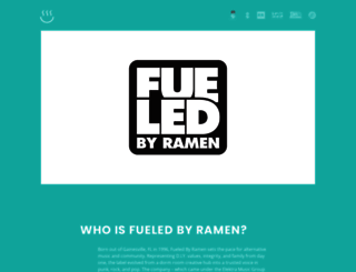 fueledbyramen.com screenshot