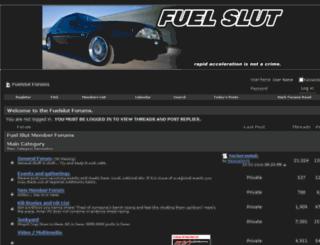 fuelslut.net screenshot