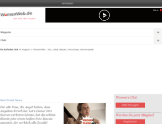 fuersieclub.de screenshot