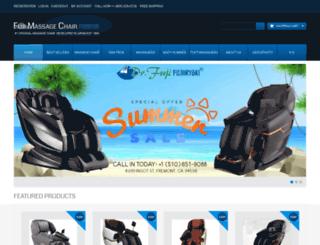 fujichair.com screenshot
