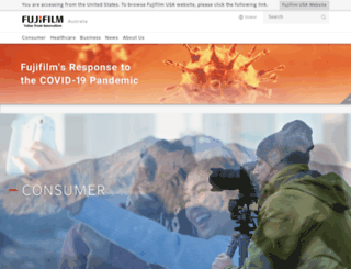 fujifilm.com.au screenshot