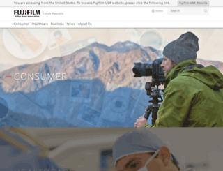 fujifilm.cz screenshot
