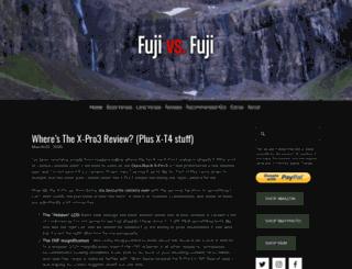 fujivsfuji.com screenshot