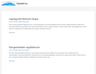 fujiweb.hu screenshot