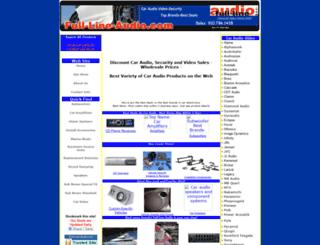 full-line-audio.com screenshot