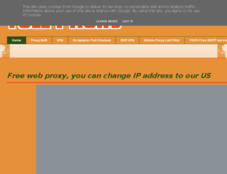 full-proxy.blogspot.be screenshot