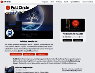 fullcirclemagazine.org screenshot