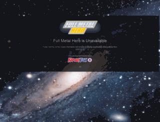 fullmetalhero.com screenshot