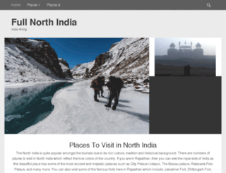 fullnorthindia.com screenshot