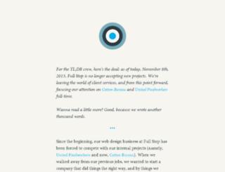 fullstopinteractive.com screenshot