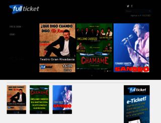 fullticket.com screenshot