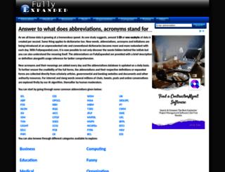 fullyexpanded.com screenshot