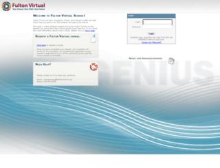 fulton.geniussis.com screenshot