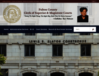 fultonclerk.org screenshot