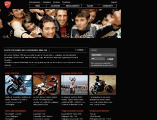 fun.ducati.com screenshot