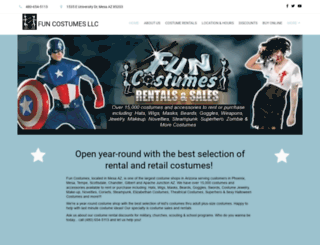 funcitycostumes.com screenshot