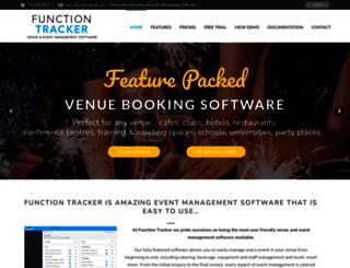 functiontracker.com screenshot