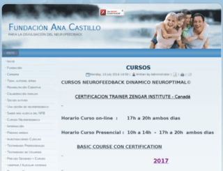 fundacionanacastillo.com screenshot