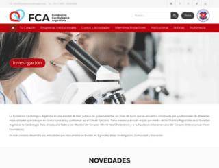 fundacioncardiologica.org screenshot