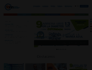 fundaciondiabetes.org screenshot
