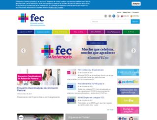 fundacioneducacioncatolica.com screenshot