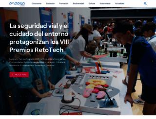 fundacionendesa.org screenshot